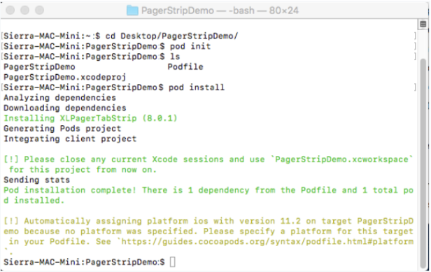 XLPagerTabStrip integration in Swift Project – SayTech
